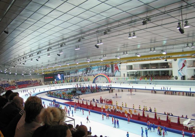 Конькобежный центр Московской области «Коломна» г. Коломна